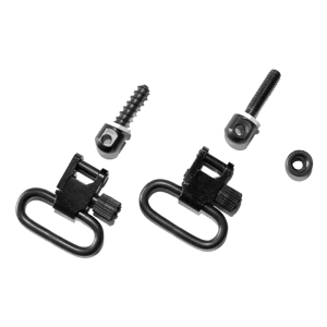 Quick Detachable Ruger Auto and Single Shot Carbines Sling Swivels (Blued, 1-Inch Loop)