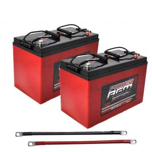 2 agm batteries 270amp