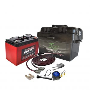 12 VOLT DUAL BATTERY BOX