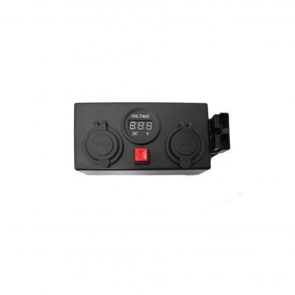 Multi Outlet Control Box / 12V DC Power Distribution