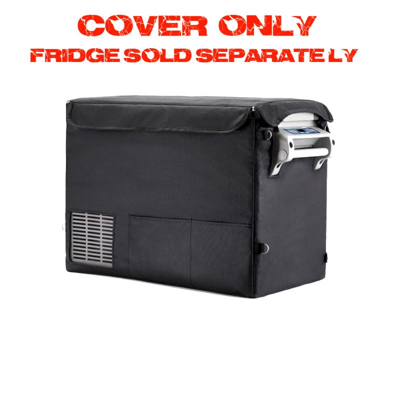 Portable camping fridge cover