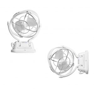 12/24V Sirocco Series II Cabin Fan (White)