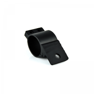 BULLBAR WRAP AROUND BRACKET BLACK
