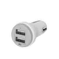 Dual USB Cigarette Car Charger for Apple and Tablet Devices - 4.2A