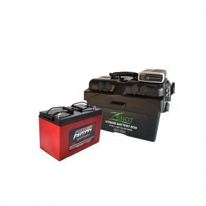 Zenot Extreme Battery Box with dc-dc charger