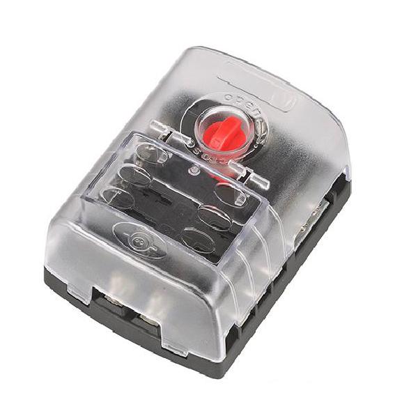 6-way terminal blade automotive fuse block